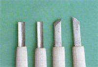 白染彫刻刀(各1本)