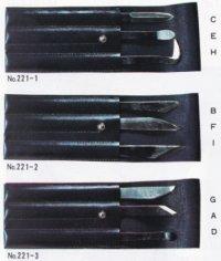 共柄彫刻刀3点セット
